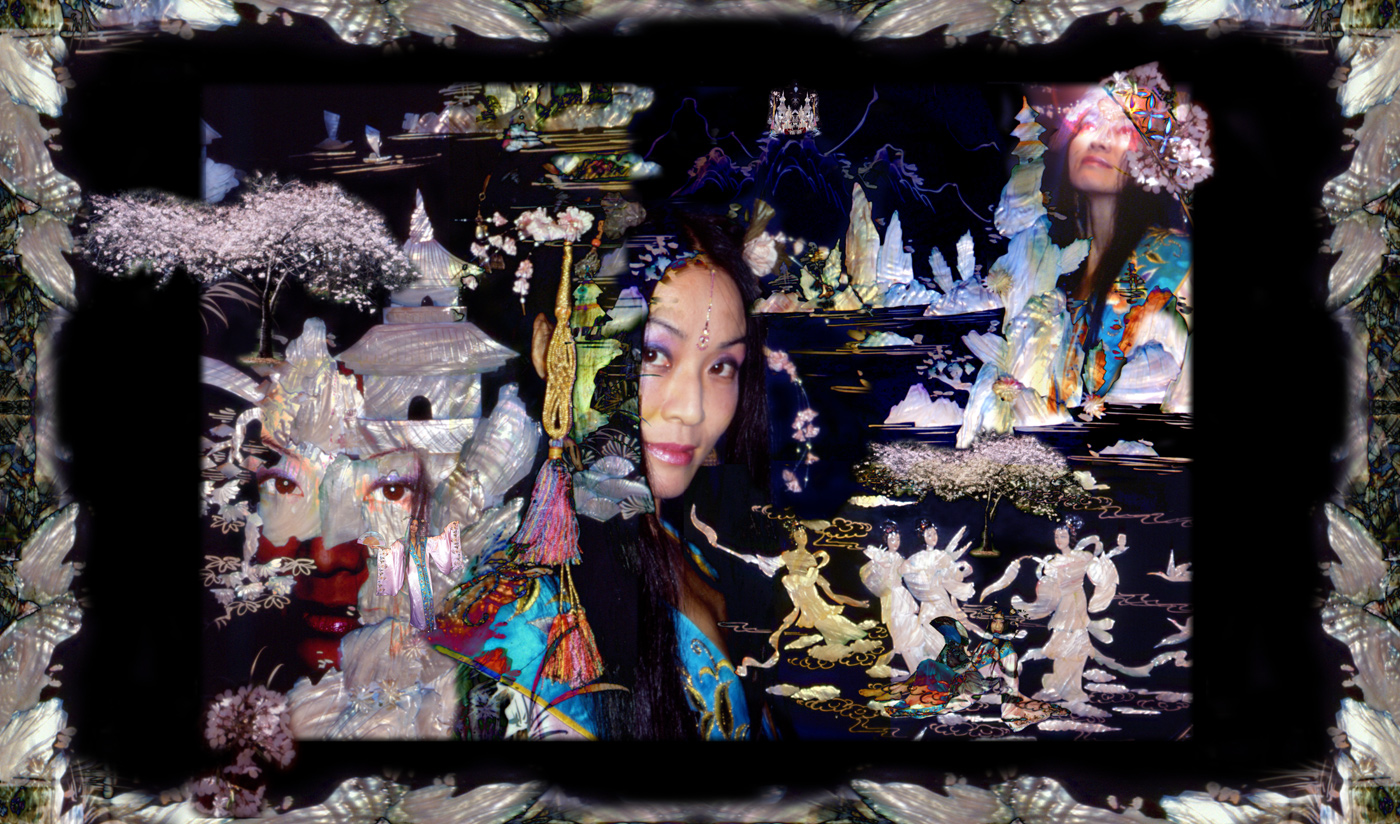 dakini versions  u0026 other collages