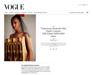 Vogue- Penny Slinger